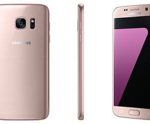 Galaxy S7 and S7 edge pink gold