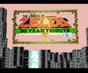 Legend of Zelda Nintendo 30th Year online game 1