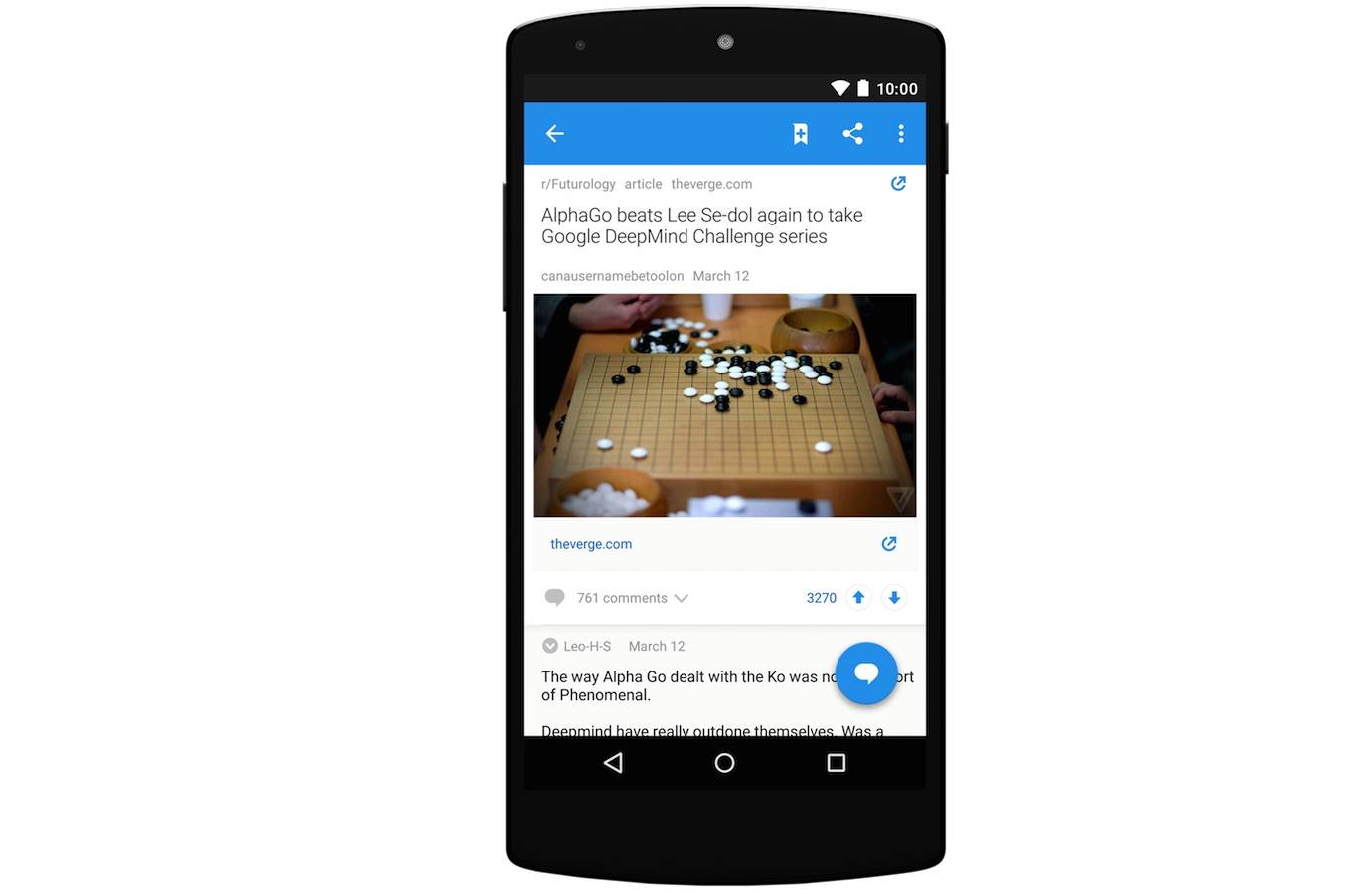 Official Reddit app for Android is finally here, ready for public