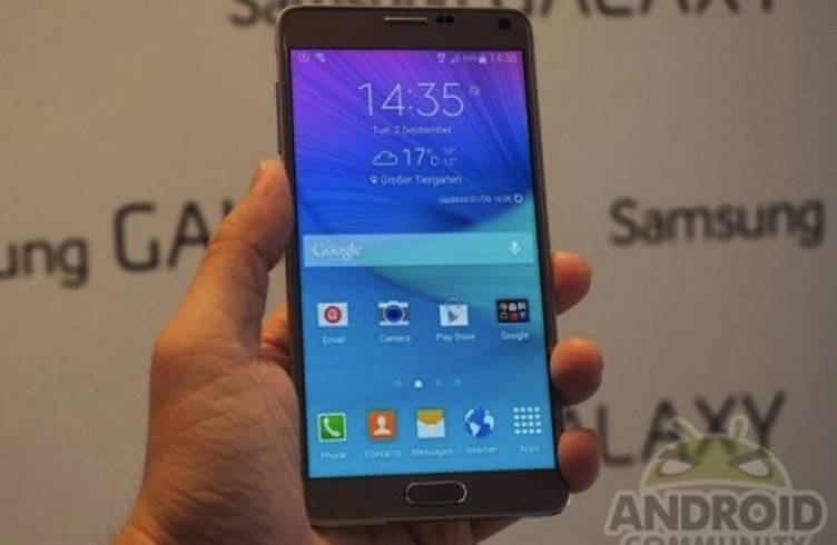 Android Samsung Note 4