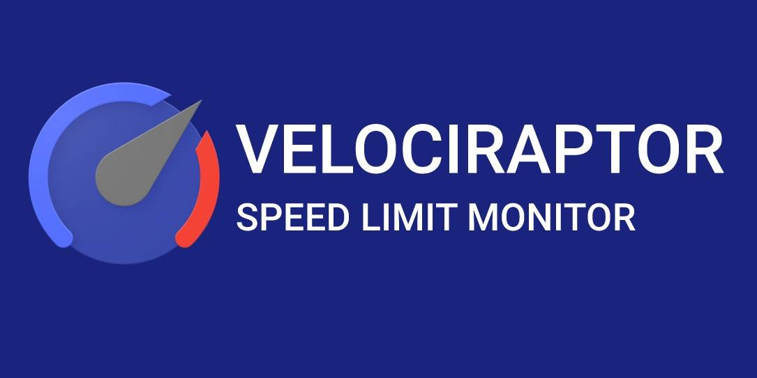Velociraptor tells your speed, speed limits on top of navigation app