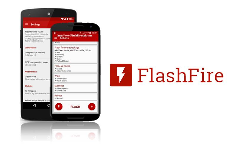 Chainfire's FlashFire now able to create Fastboot flashable