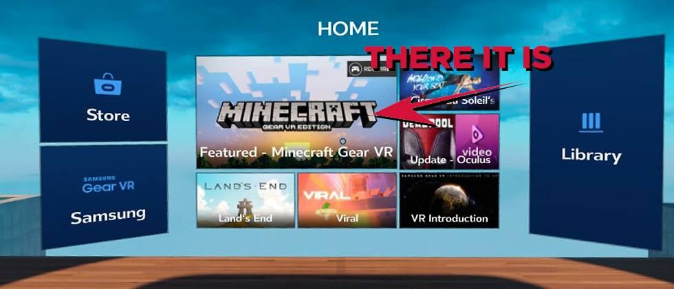 Samsung gear vr minecraft apk | Minecraft just arrived on