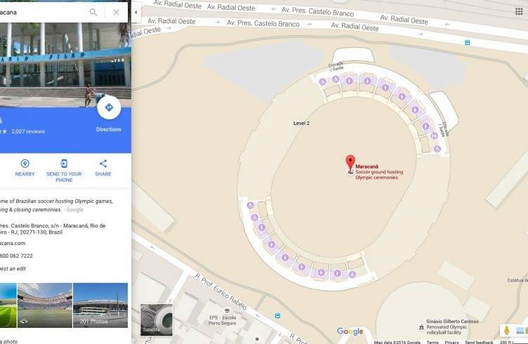 Google Maps RIO