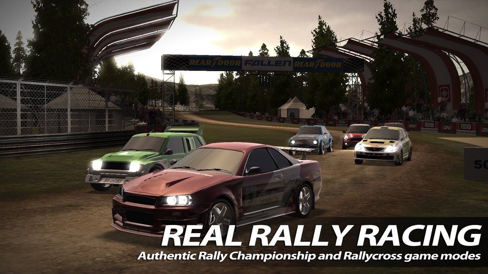 Rush Rally 2' continues an exciting rally simulation