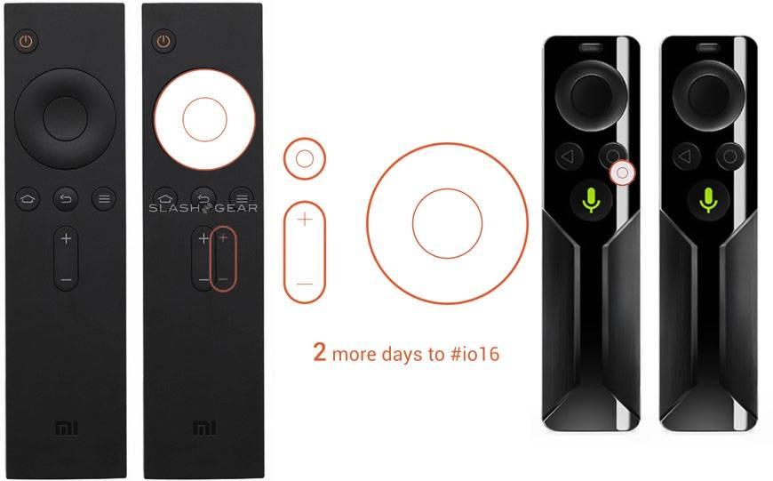 Xiaomi mi android tv remote