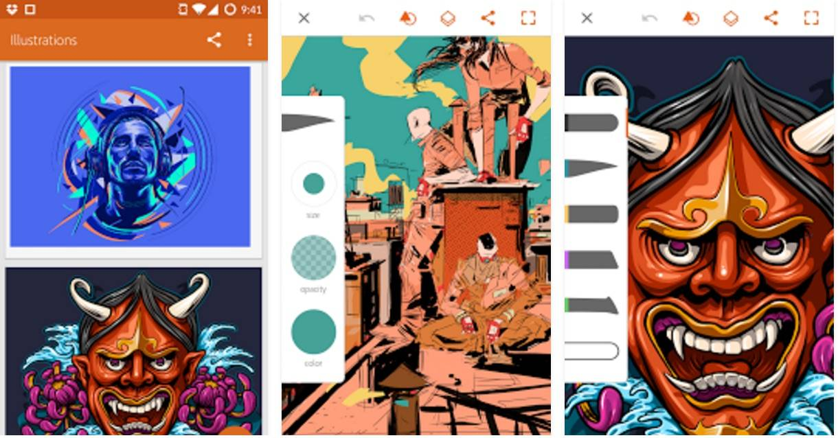 Adobe Illustrator Draw finally available for Android tablets - Android  Community