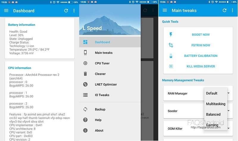 L Speed App Is An All In One Performance Tweak Combo Root