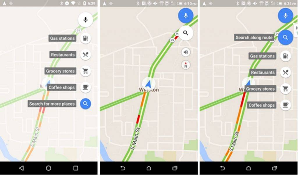 Google Maps update: better search options, new FABs for