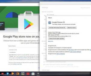 Google Chrome OS Google Play Store
