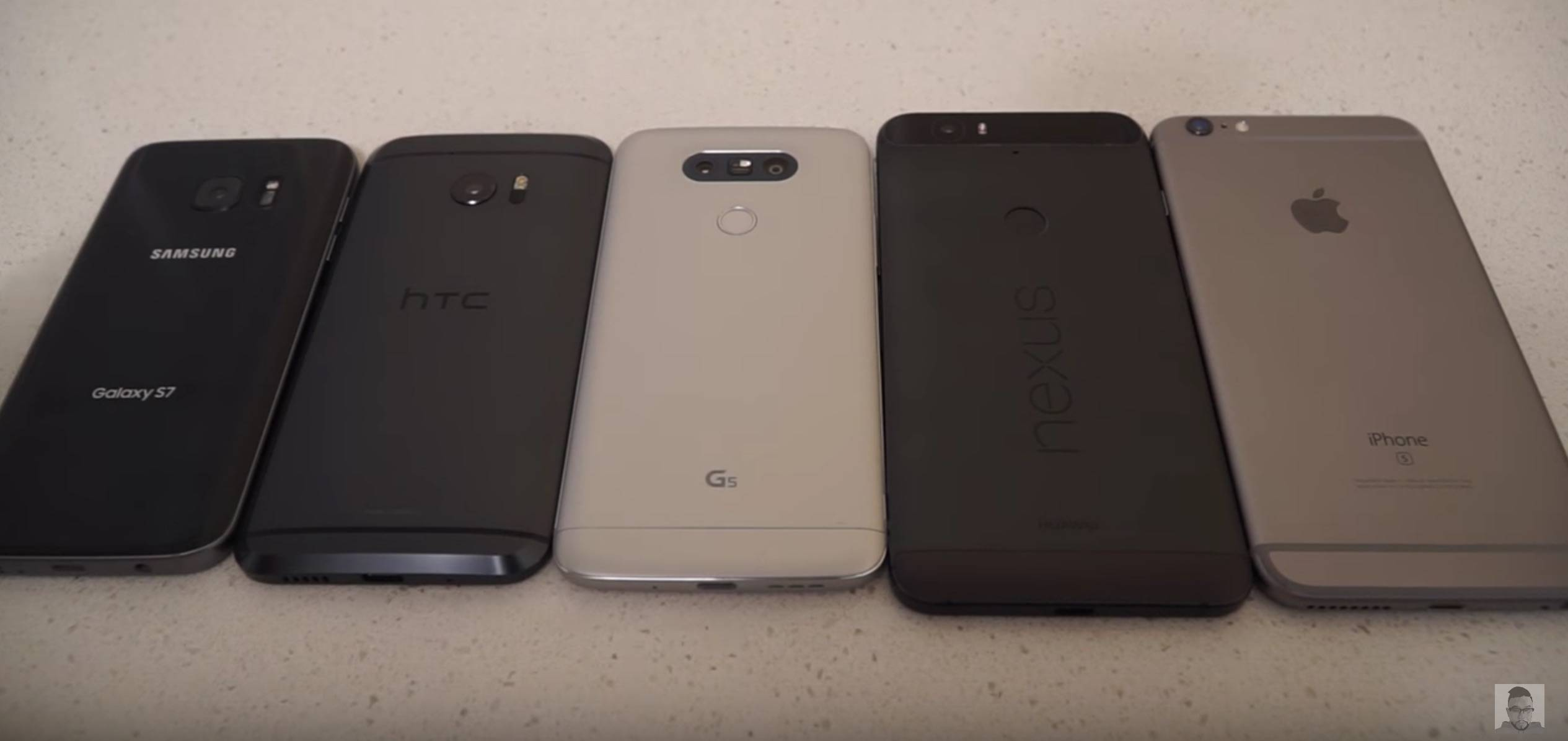 Android flagships (and one iOS) get a flash showdown