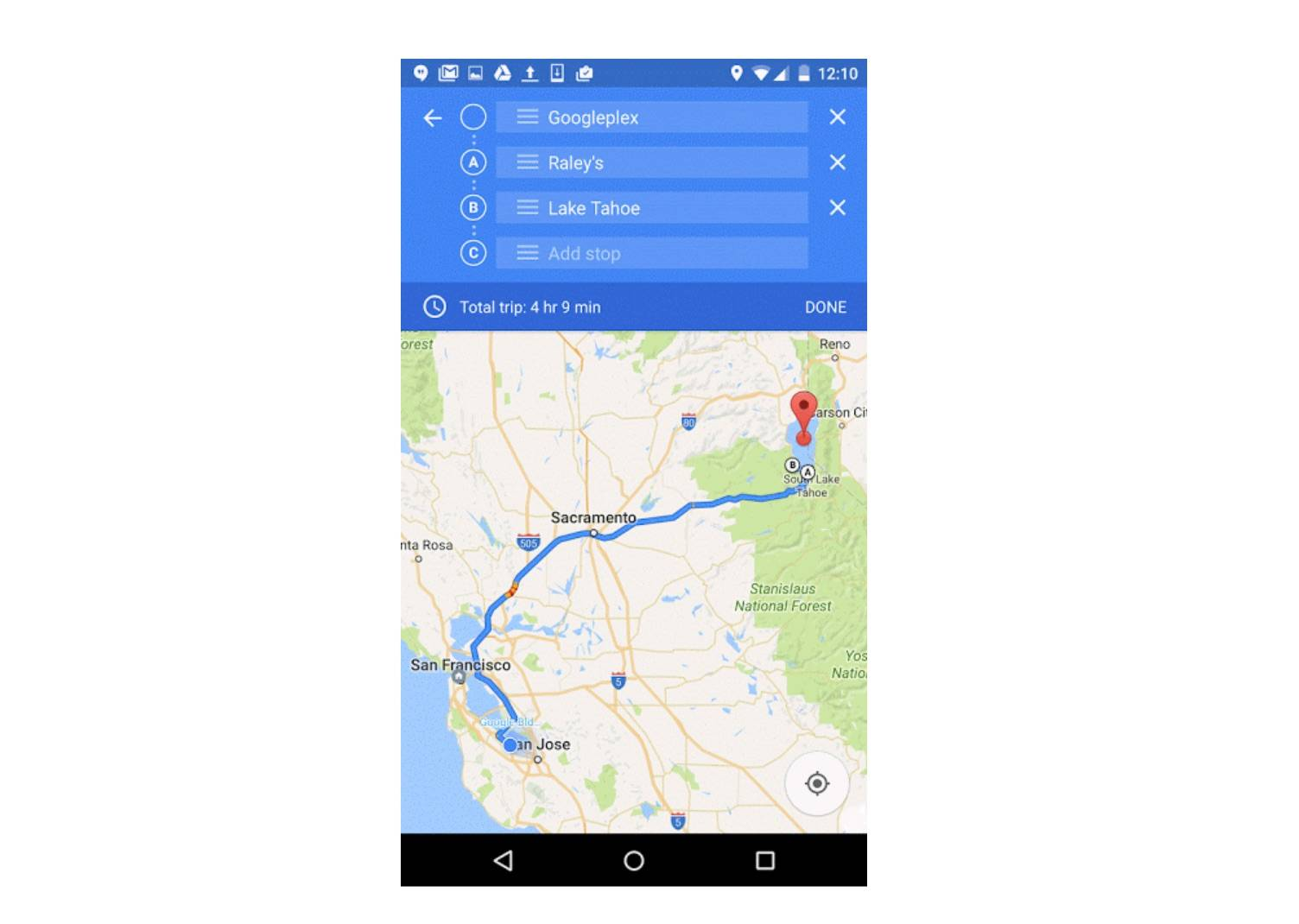 Google Maps introduces multi-waypoint, add notes to Your ... on star chart map, grid reference map, resection map, azimuth map, gnomonic projection map, latitude map, tide map, gps map, longitude map, orienteering map, tomtom map, geographic coordinate system map,