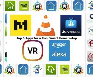 Top 5 Apps for a Cool Smart Home Setup a