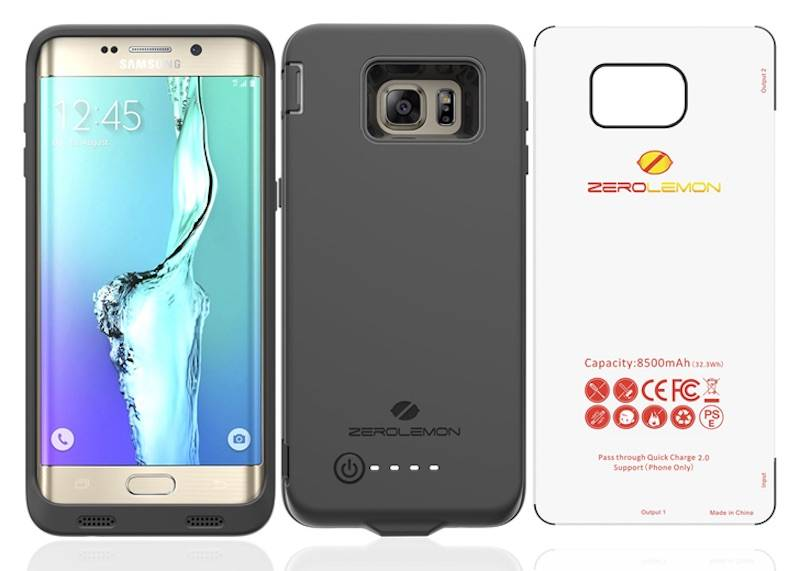new product c2ca9 bd7ae Samsung Galaxy S7 Edge Battery case by ZeroLemon now out in the ...
