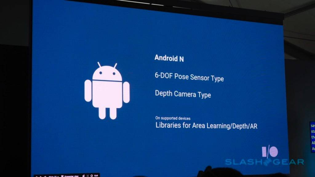 Android Nougat Project Tango