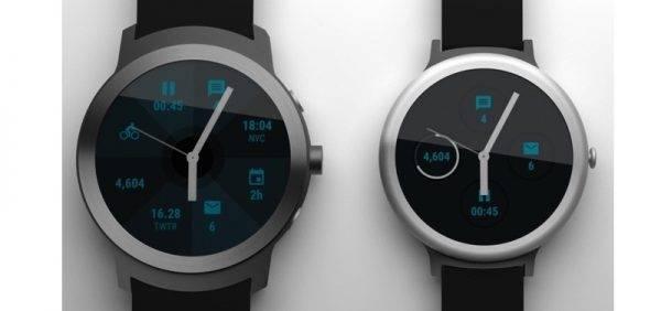 Android Wear Google Nexus smartwatch
