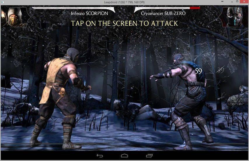 LeapDroid-Android-Emulator-2