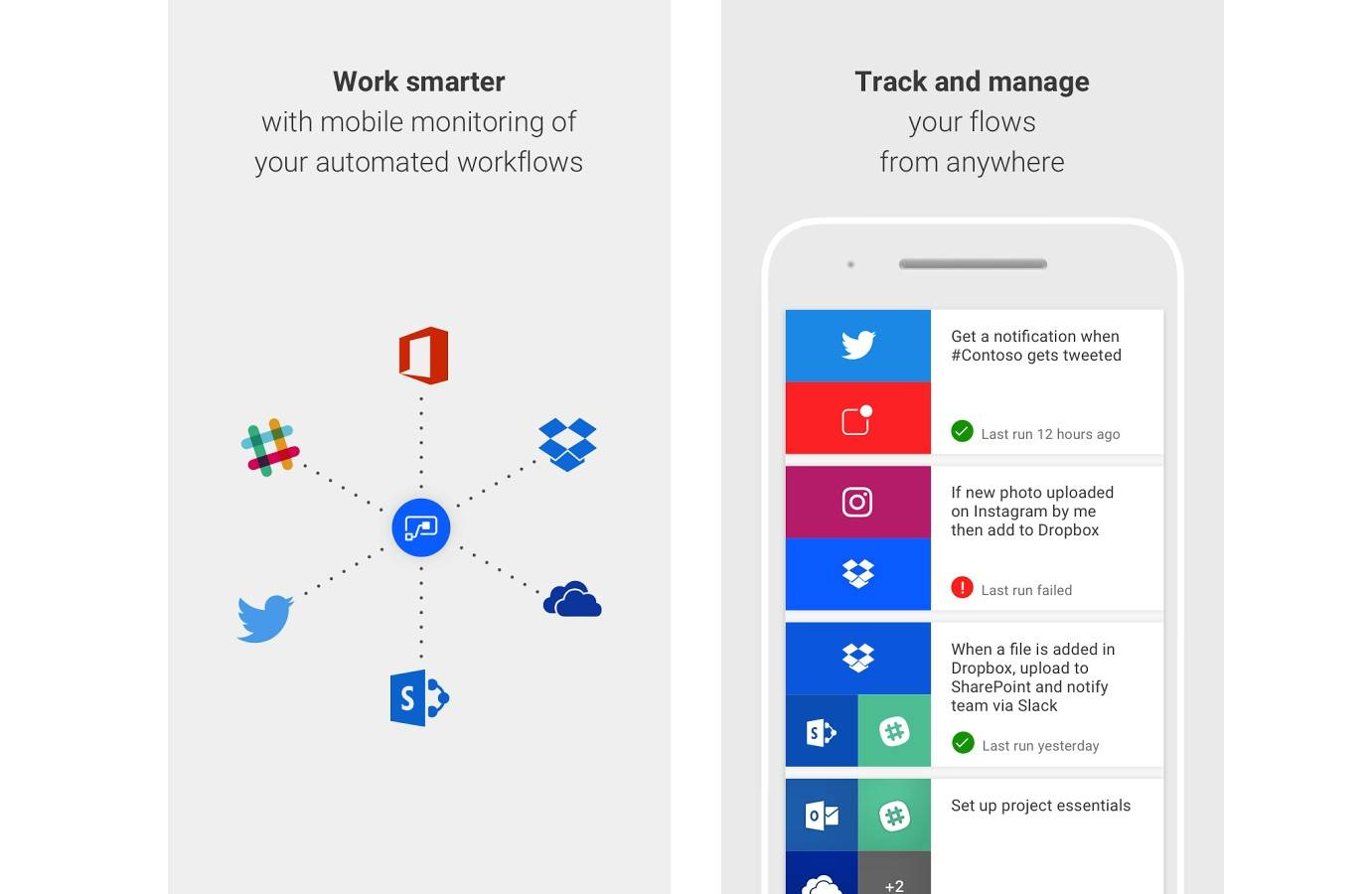 Microsoft Flow for Android now on its beta testing phase