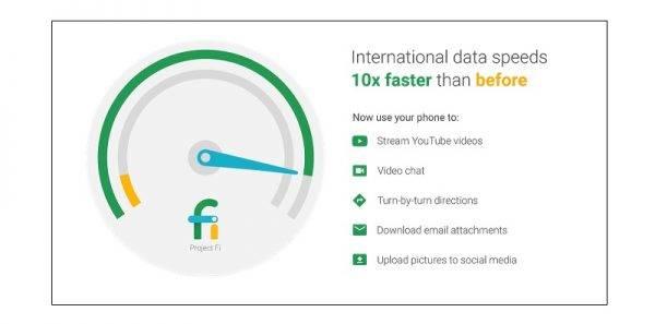 Project Fi International Data