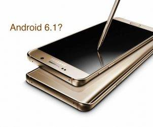Samsung Galaxy Note 7 Android 6.1 Marshmallow