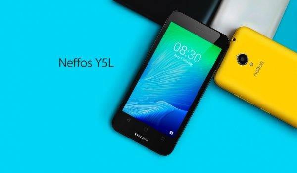 The Neffos Y5L b