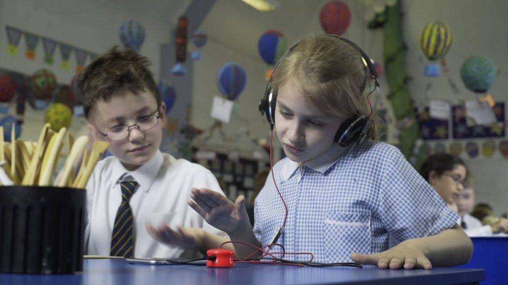 Mogees Play lets you create music on various objects, surfaces