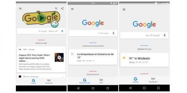 Google Home Dashboard 2