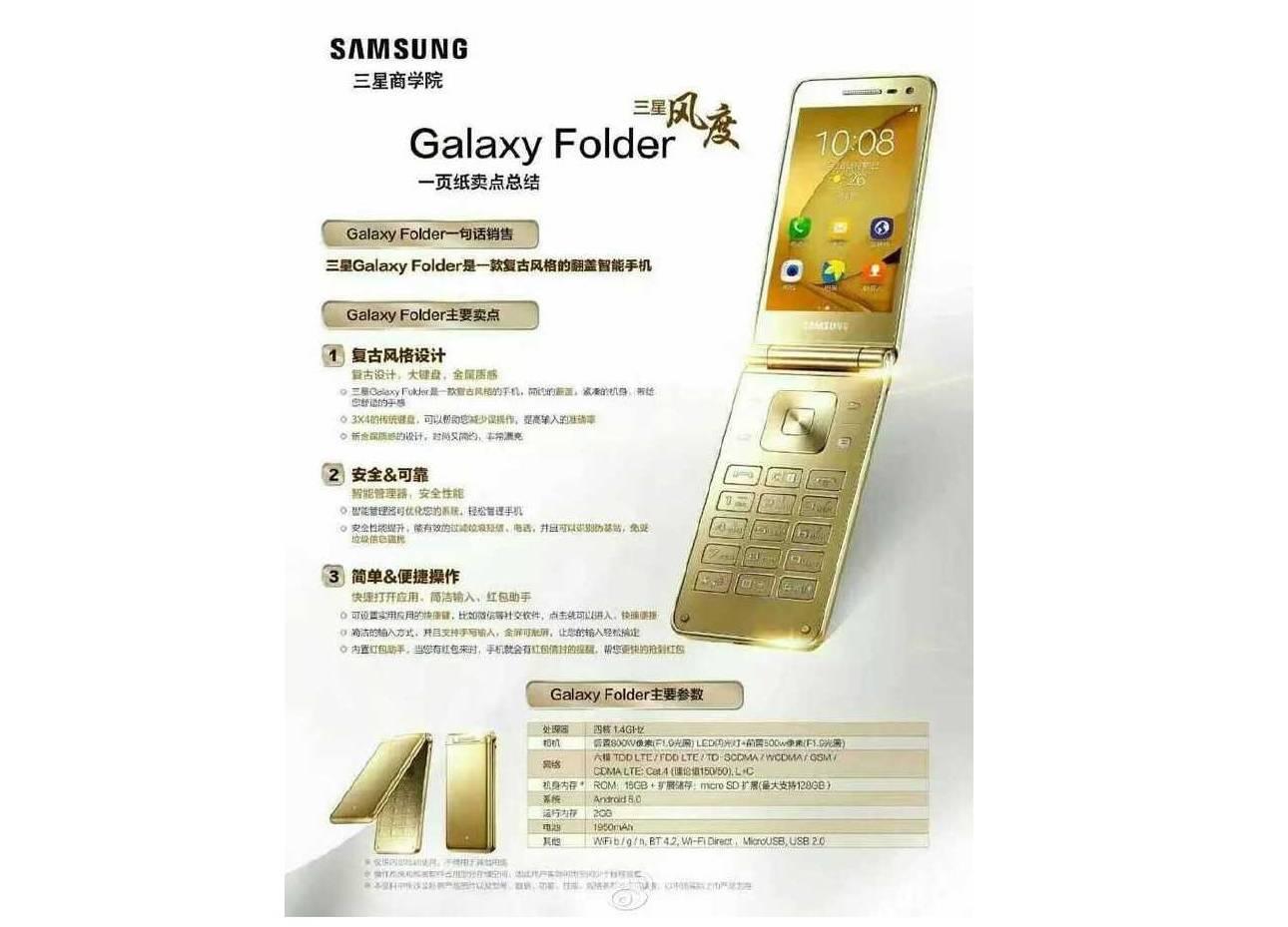 Samsung Galaxy Folder 2 a