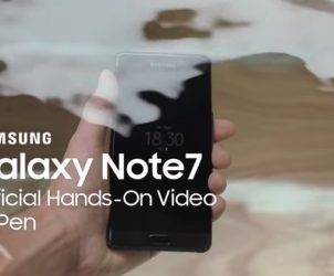 Samsung Galaxy Note 7 Hands-on 1