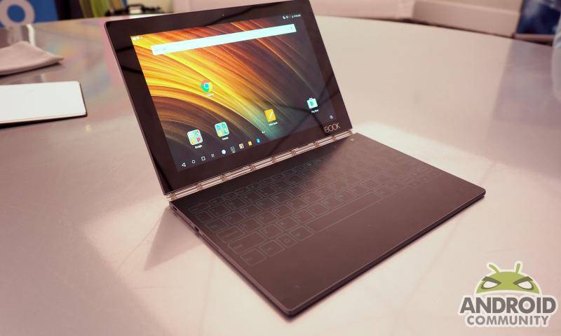 Lenovo Yoga Book Hands On An Odd Blend Of Digital And Analog Android Community