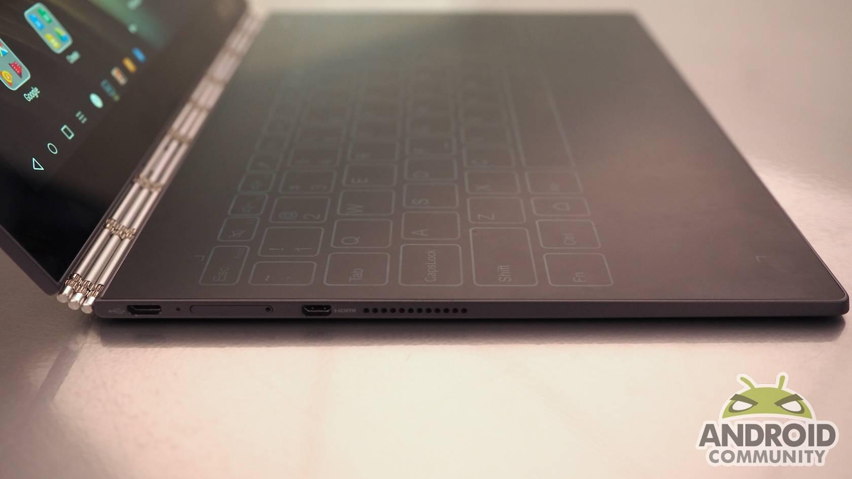 Lenovo Yoga Book hands-on: an odd blend of digital and