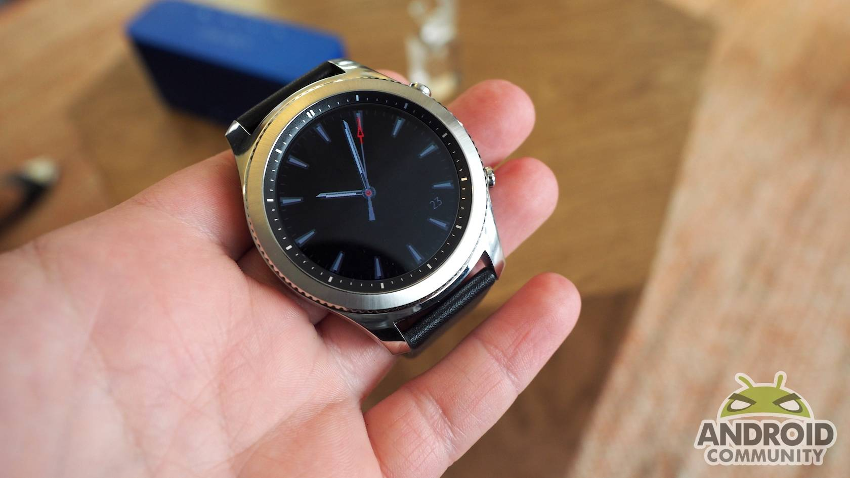 Samsung Gear S3 hands-on: dancing with LTE, MST - Android Community