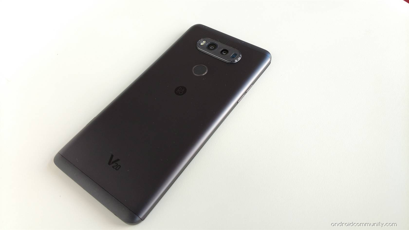 LG V20 first look: trading hype for maturity