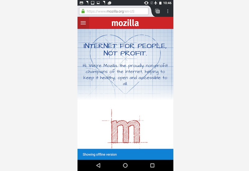 mozilla-android-offline