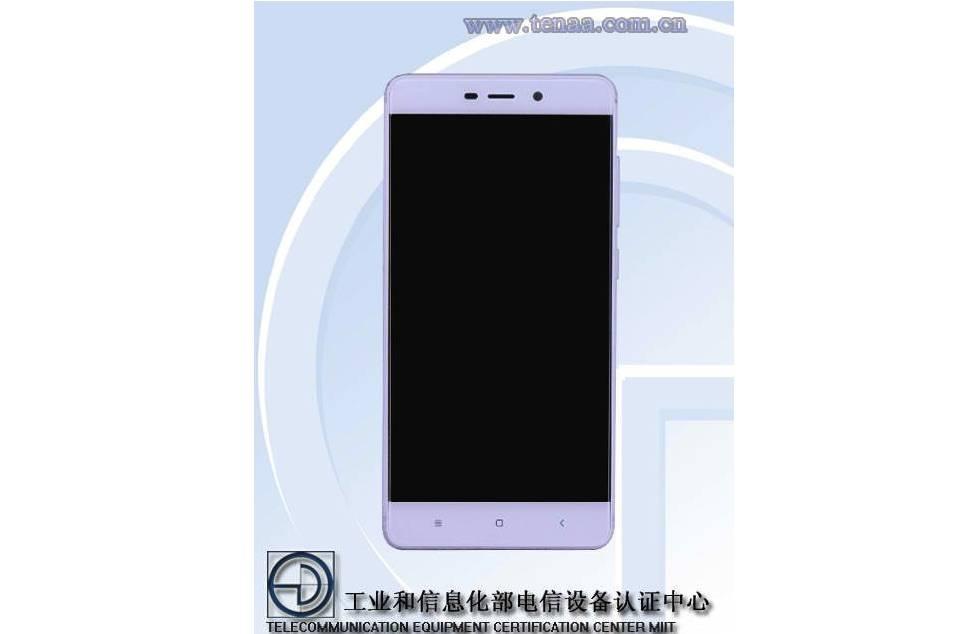 Xiaomi Redmi 4 TENAA