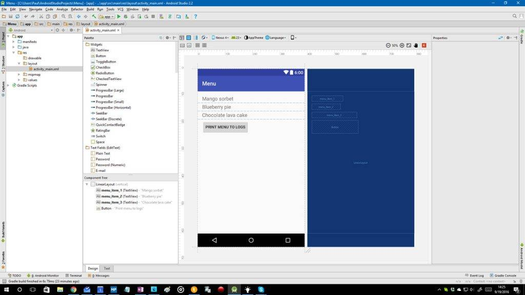 Android Studio 2 2 now available for download - Android Community