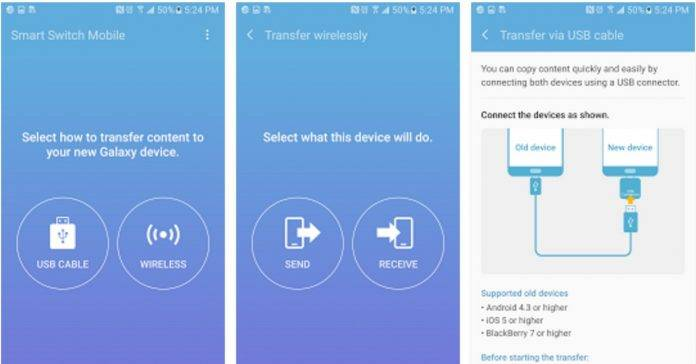 Samsung Smart Switch Mobile now supports Windows Mobile devices