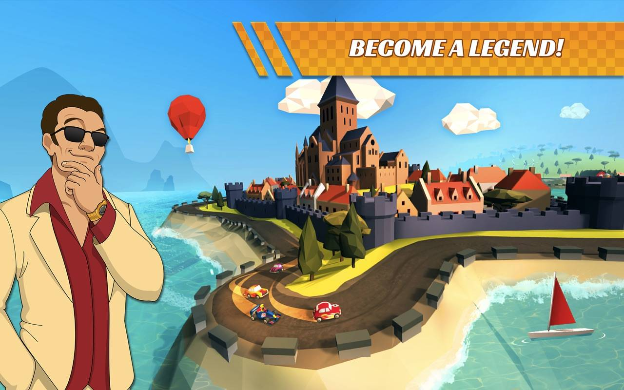 Pocket Rush' will challenge you to race your way to awesomeness