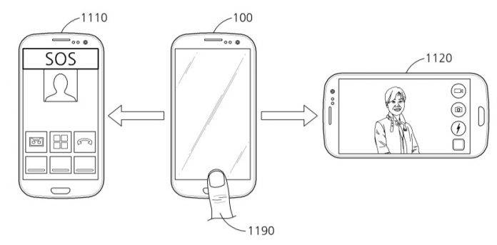 samsung applied patent for fingerprint swipe gestures