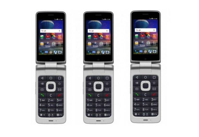 the best attitude c3d1d 8cf27 ZTE Cymbal-T flip phone announced with 4G LTE already - Android ...