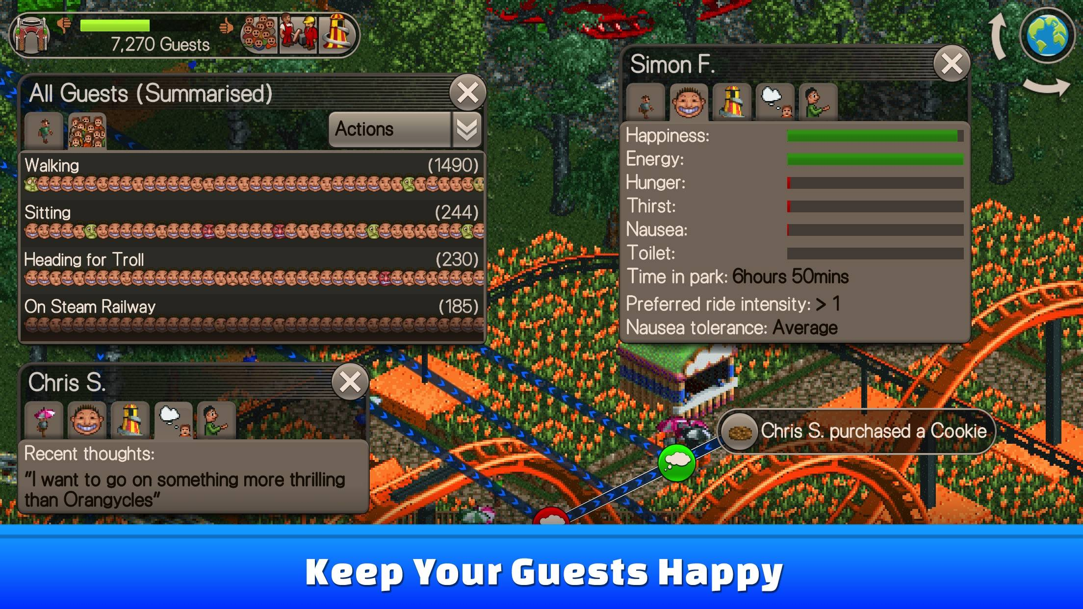 Rollercoaster Tycoon Classic' brings the original simulation