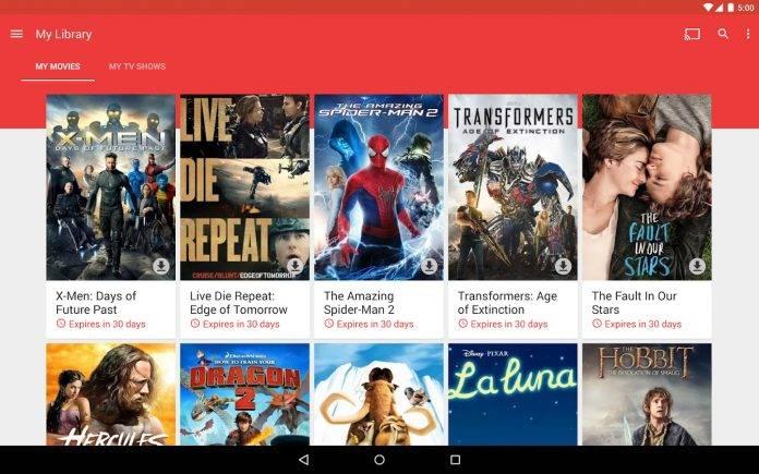 Google Play Movies & TV now on 4K Ultra HD, VR, 2016 Samsung