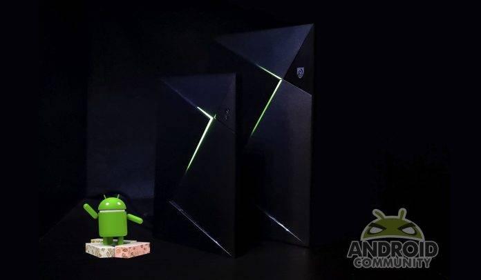 NVIDIA SHIELD TV Android 7.0 Nougat