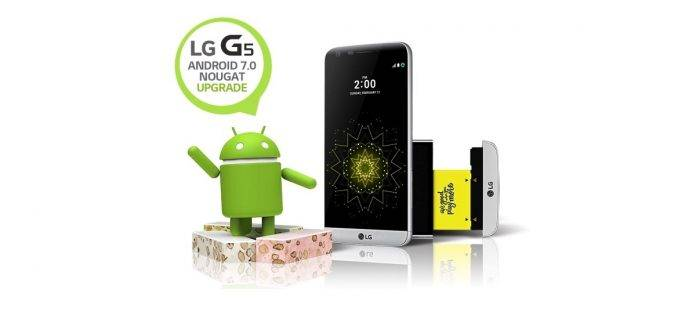ATT LG G5 Android 7.0 Nougat OS Update