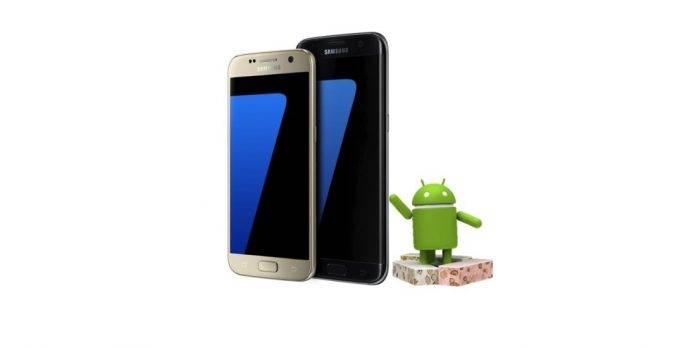 AT&T Samsung Galaxy S7 Galaxy S7 Edge Android 7.0 Nougat