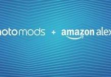 Moto Mod plus Amazon Alexa