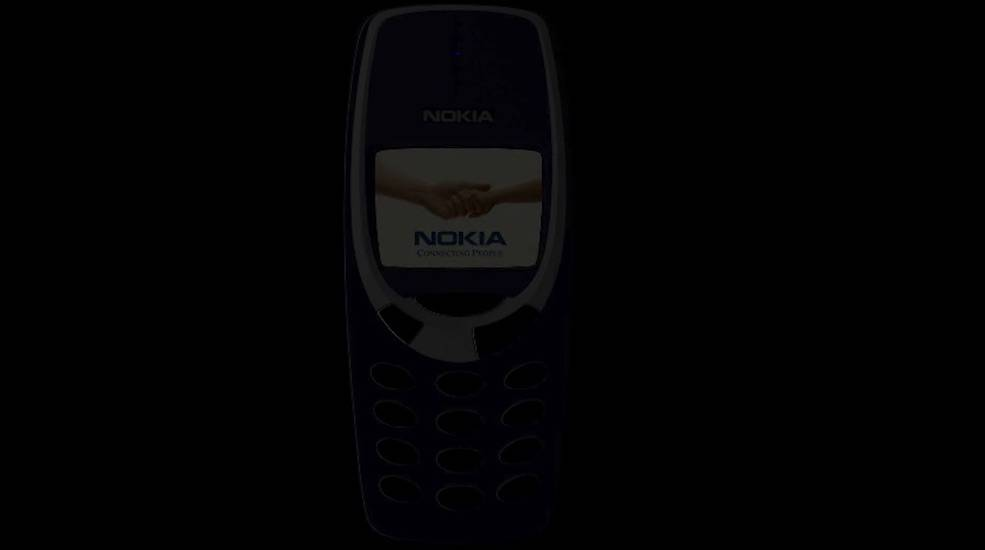 Concept Nokia 3310 running Android gets rendered in a video