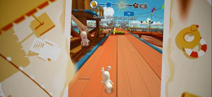 Rabbids Crazy Rush Cover