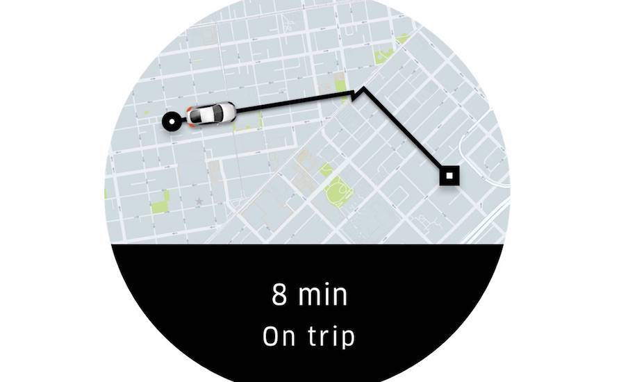 Uber app updated, now available for Android Wear 2 0