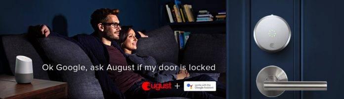 Google Home August Home Door Lock
